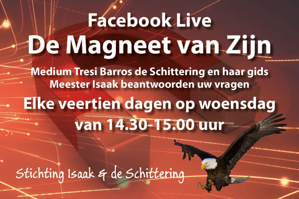 Facebook Live De Magneet van Zijn
