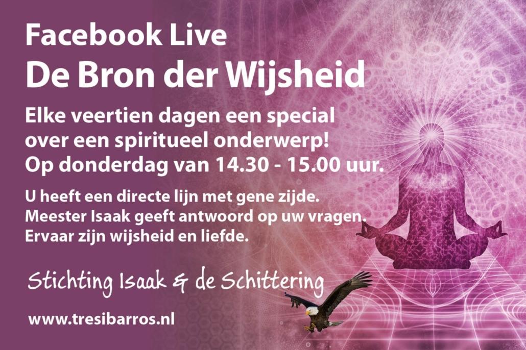FACEBOOK LIVE | DE BRON DER WIJSHEID